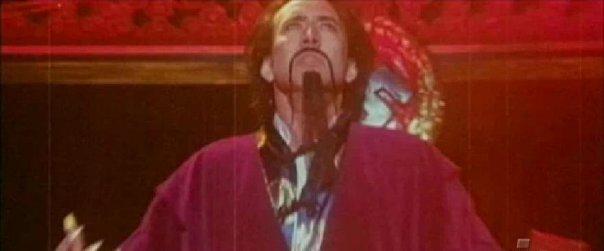 Nicholas Cage as Dr. Fu Manchu