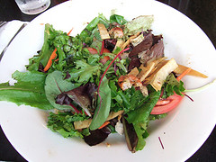a rotten salad at Silver Spurs in NYC