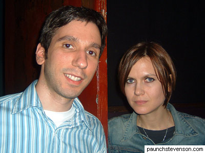 Rob and Juliana Hatfield, October 7, 2005