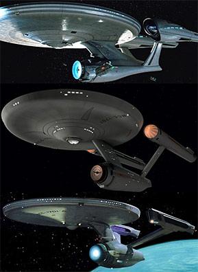 USS Enterprise comparison