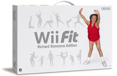 Nintendo Wii Fit: Richard Simmons Edition