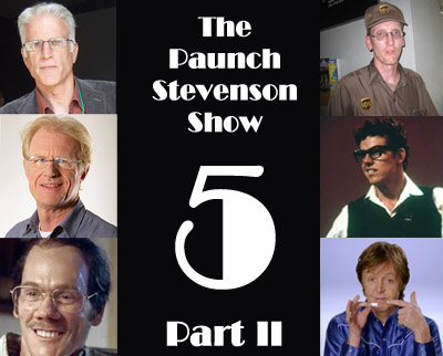 The Paunch Stevenson Show episode 161