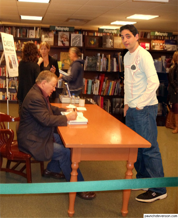 The Great William Shatner, NYC, 10/6/11