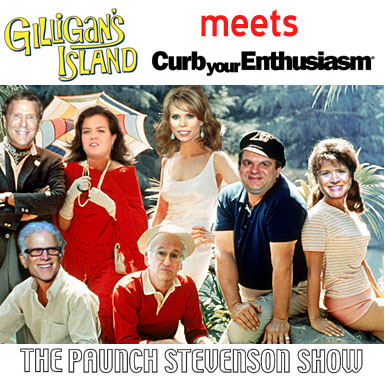 Curb Your Enthusiasm Cast in Gilligan's Island
