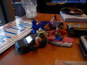 BTTF McDonald's Toys